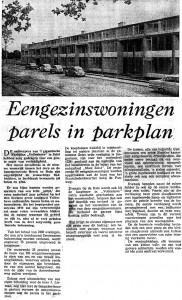 Parels in parkplan