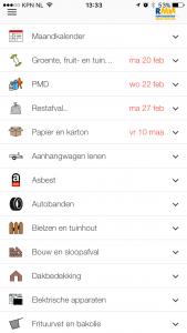 Afvalkalender App